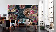 Декорирование большой стены