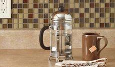 Фартук для кухни из мозаики своими руками
