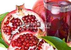 Гранатовый сок: состав, польза и свойства сока граната
