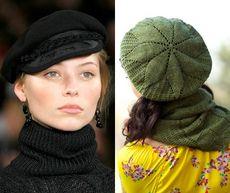 Модные береты: фото самых модных беретов для осени и зимы 2014 года