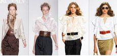 Модные блузки сезона весна-лето 2013