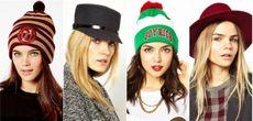 Модные головные уборы, зима 2015 – 2016 с фото