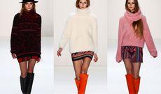 Модные свитера осенне-зимнего сезона 2013/14