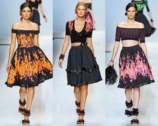Модные тенденции в сезоне весна – лето 2012 (фото)