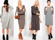 Осенняя мода – как носить платья в офис