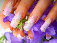 Особенности аквариумного дизайна ногтей (фото).!--more-- актуальный аквариумный дизайн ногтей на фото - во всём своём разнообразии