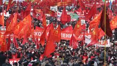 Праздник 7 ноября - день октябрьской революции 1917 года в россии
