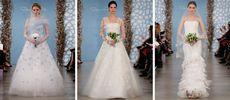 Свадебная коллекция платьев от оскара де ла рента