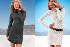 Вязаное платье от victoria`s secret своими руками